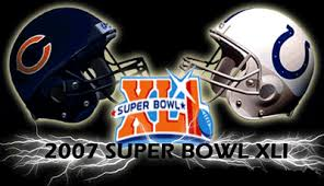 Super Bowl XLI - 2006 Colts vs Bears