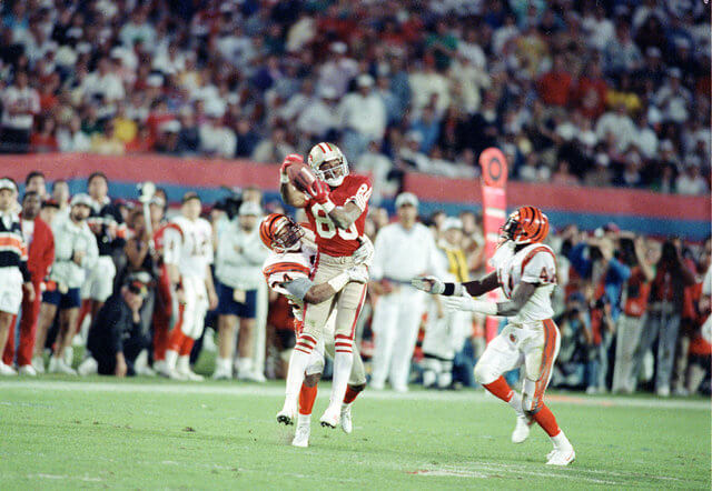 Super Bowl XXIII - 1988 Jerry Rice