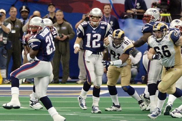 Super Bowl XXXVI - 2001 New England Patriots
