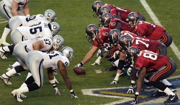 Super Bowl XXXVII Tampa Bay Bucs