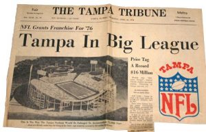 Tampa NFL News 1976