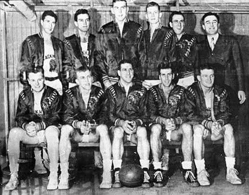 Tri Cities Blackhawks 1946