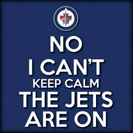 Winnipeg Jets 2011 - Keep Calm