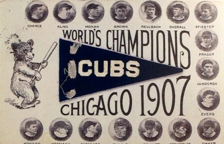 World Series - 1907 Chicago Cubs