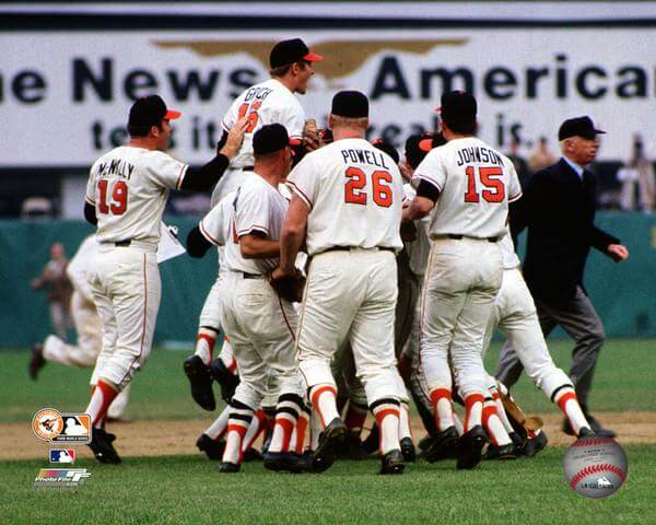 World Series - 1970 Baltimore Orioles