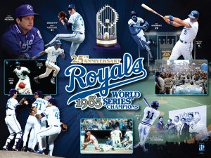World Series - 1985 Kansas City Royals