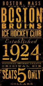 boston bruins 1924