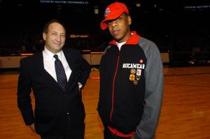 Bruce Ratner and Jay-Z.