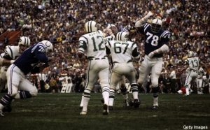 Super Bowl III - New York Jets vs Baltimore Colts - January 12, 1969