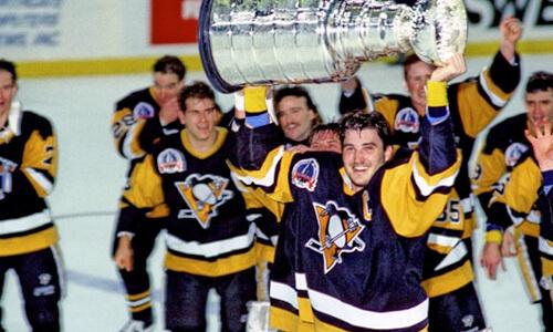 Mario Lemieux 1991 Stanley cup