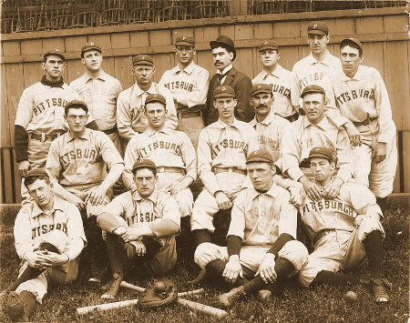 1896 Pittsburgh Pirates Team