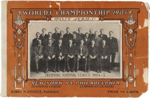 1905 New York Giants World Series