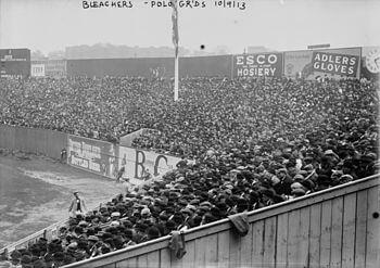 1913 World Series Bleachers - Athletics