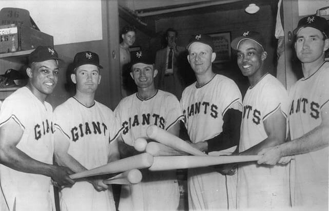 1954 World Series NY Giants