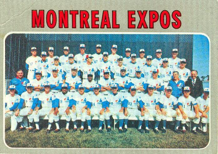 1970 Expos Team