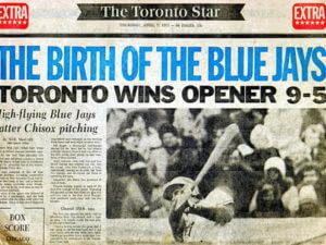 Blue Jays Opener 1977