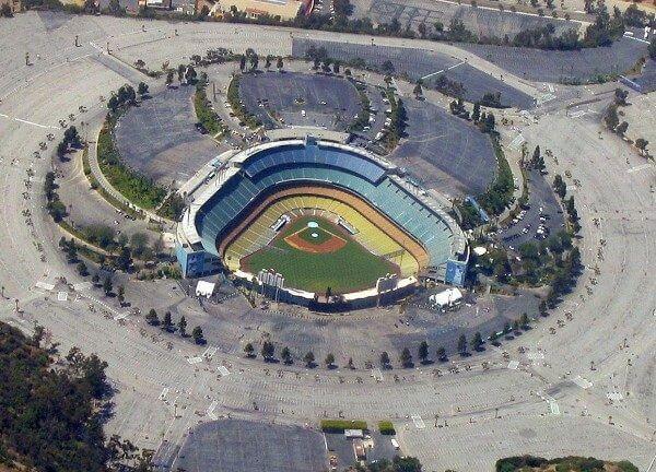 Dodger Stadium 1962