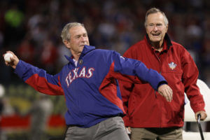 George W Bush San Francisco Giants Texas
