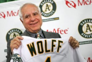 Lewis Wolff Oakland Athletics Owner