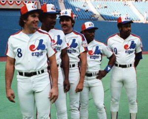 Montreal Expos Stars