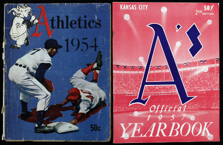 Phil to KC Athletics 1954