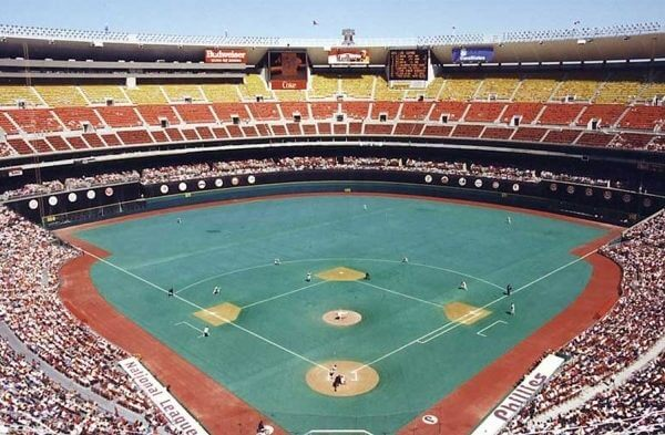 Veterans Stadium 1971