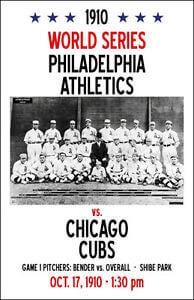 World Series - 1910 Philadelphia Athletics