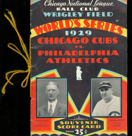 World Series - 1929 Philadelphia Athletics