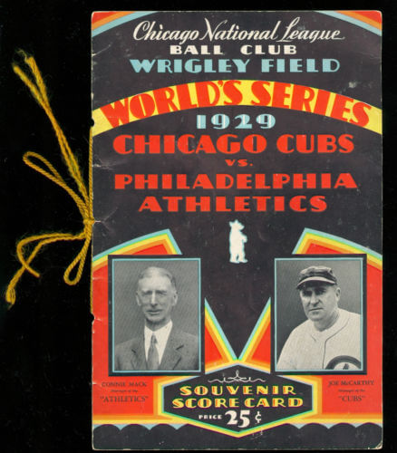 World Series - 1929 Philadelphia Athletics