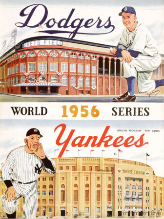 World Series 1956 New York Yankees