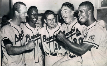World Series - 1957 Milwaukee Braves