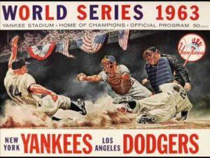 World Series - 1963 Los Angeles Dodgers