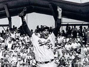 World Series - 1965 Sandy Kofax