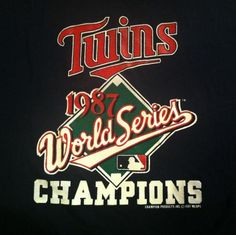 World Series - 1987 Minnesota Twins
