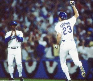 World Series - 1988 Kirk Gibson