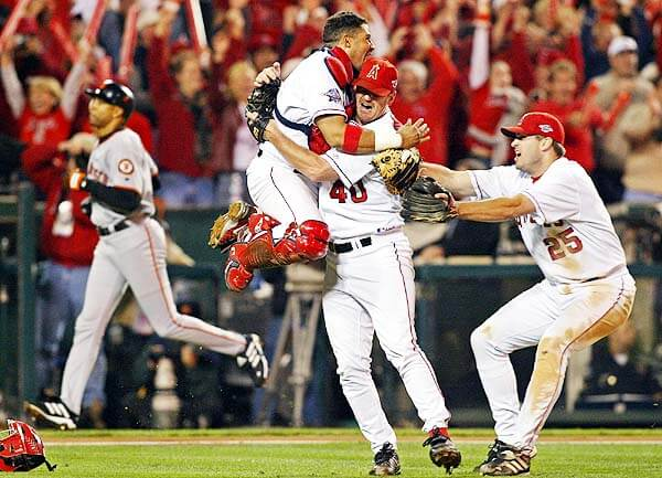 World Series - 2002 Anaheim Angels