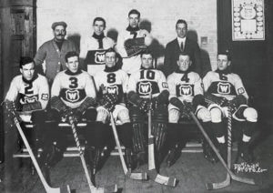 1917-18 Montreal Wanderers team