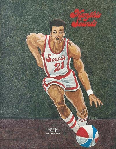 1974 Memphis Sounds Finch