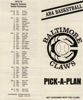 Claws Brochure 1975