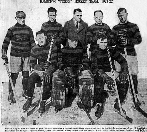 Hamilton Tigers 1922
