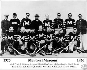 Montreal Maroons 1925