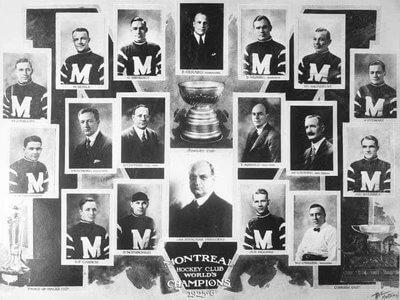 Montreal Maroons 1925-26 Stanley Cup Winner