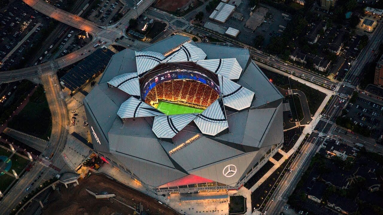Mercedes-Benz Stadium Set To Open | Sports Team History