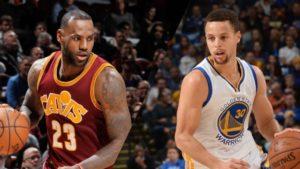 Cleveland Cavaliers vs Golden State Warriors 2017 NBA Finals from ESPN