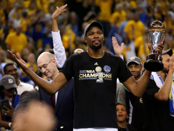 Warriors versus Cavaliers NBA Finals