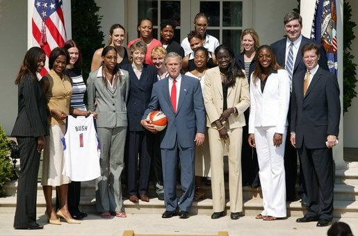 Detroit Shock 2003 White House