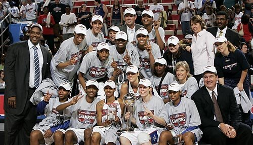 Detroit Shock 2006 WNBA Champs