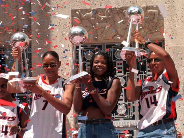 Houston Comets - 3-peat 1999