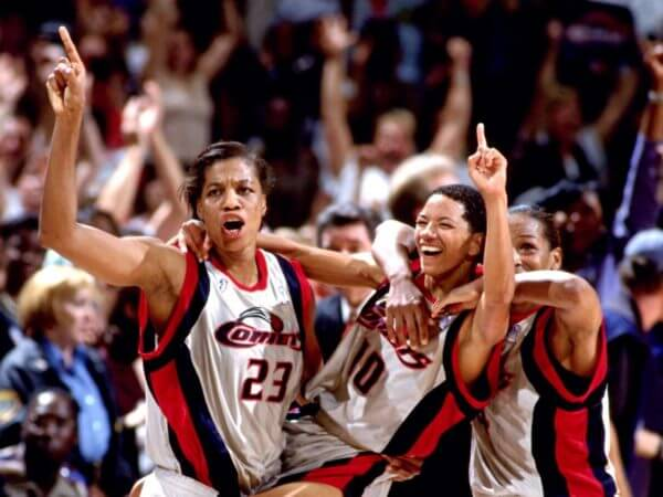 Houston Comets - Champs 1998