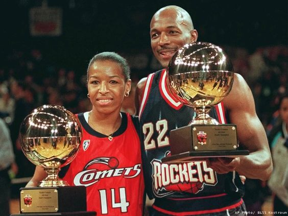 Houston Comets -Cynthia Cooper MVP